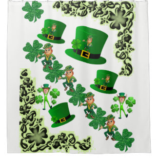 Saint Patrick's Day Shower Curtain