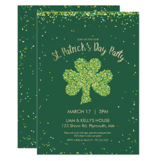Saint Patrick's Day (St. Paddy's Day) Invite