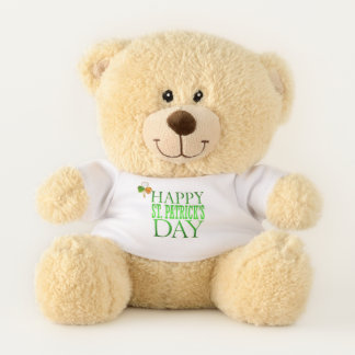 SAINT PATRICK'S DAY TEDDY BEAR