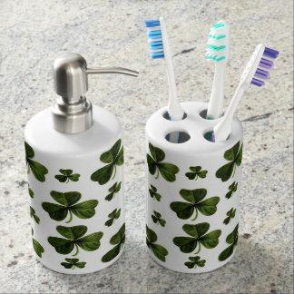Saint Patrick's Day Toothbrush  Soap Dispenser