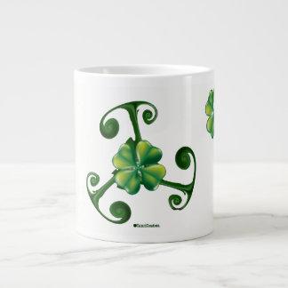 Saint Patrick's Day - Triskele Giant Coffee Mug