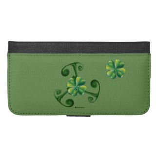 Saint Patrick's Day - Triskele *Lá Fhélie Pádraig iPhone 6/6s Plus Wallet Case