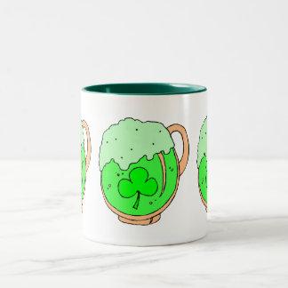 Saint Patrick's day - Two-Tone Coffee Mug