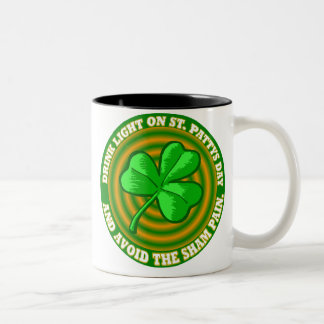 Saint Patricks Day Two-Tone Coffee Mug