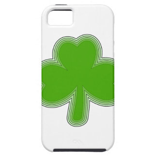 Saint Patrick'S Shamrock Drawing iPhone 5 Cases