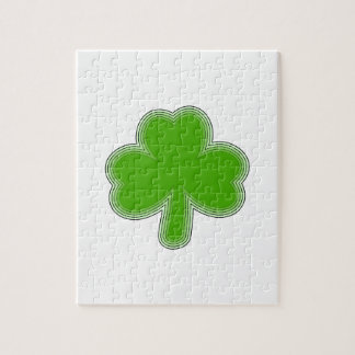 Saint Patrick'S Shamrock Drawing Jigsaw Puzzle