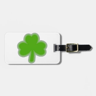 Saint Patrick'S Shamrock Drawing Luggage Tag