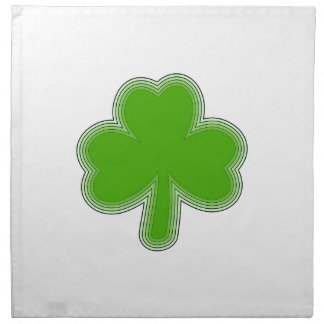 Saint Patrick'S Shamrock Drawing Napkin