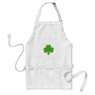 Saint Patrick'S Shamrock Drawing Standard Apron