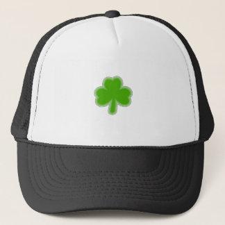 Saint Patrick's Shamrock Drawing Trucker Hat