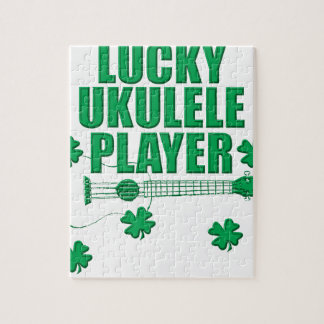 Saint Patrick's Ukulele Jigsaw Puzzle