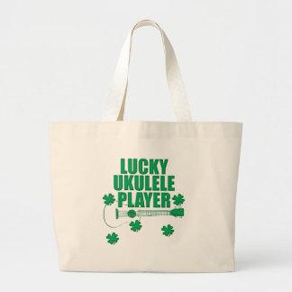 Saint Patrick's Ukulele Large Tote Bag