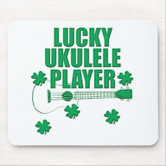 Saint Patrick's Ukulele Mouse Pad