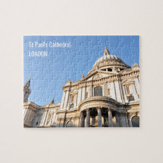 Saint Paul cathedral in London, UK Jigsaw Puzzle