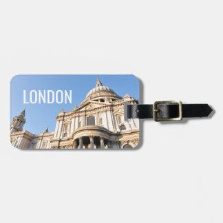 Saint Paul cathedral in London, UK Luggage Tag