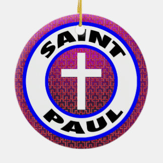 Saint Paul Ceramic Ornament