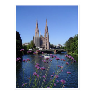 Saint-Paul church of Strasbourg Postcard