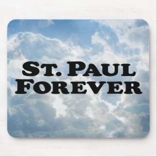 Saint Paul Forever - Basic Mouse Pad