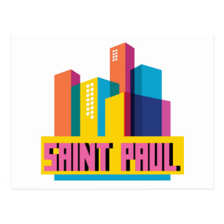 Saint Paul in Design Postcard