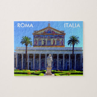 Saint Paul Outside the Walls Basilica Jigsaw Puzzle