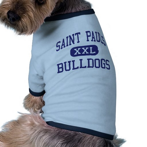 Saint Pauls Bulldogs Middle Saint Pauls Doggie Tshirt