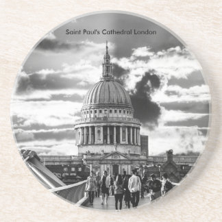 Saint Paul's Cathedral London. Coaster