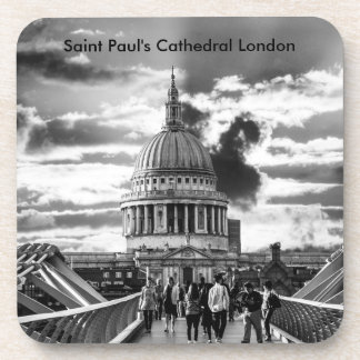 Saint Pauls Cathedral London. Drink Coasters
