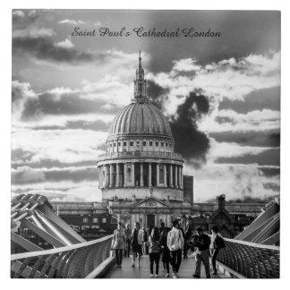 Saint Paul's Cathedral London. Tile