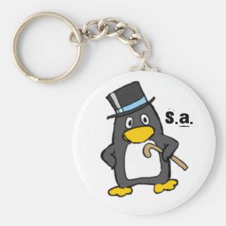 saint penquin key chain