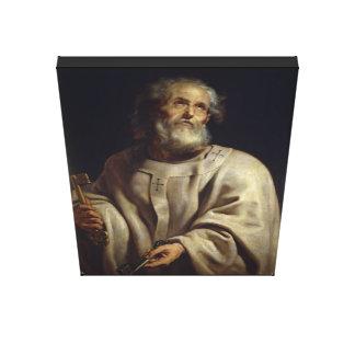 Saint Peter by Peter Paul Rubens, Canvas Print