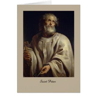 Saint Peter by Peter Paul Rubens, Greeting Card
