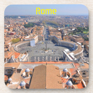 Saint Peter square in Vatican, Rome, Italy Coaster