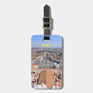 Saint Peter square in Vatican, Rome, Italy Luggage Tag