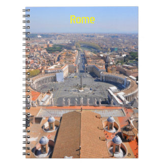 Saint Peter square in Vatican, Rome, Italy Notebooks