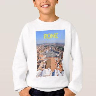 Saint Peter square in Vatican, Rome, Italy Sweatshirt