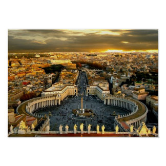 Saint Peter Square, Value Poster (Matte)