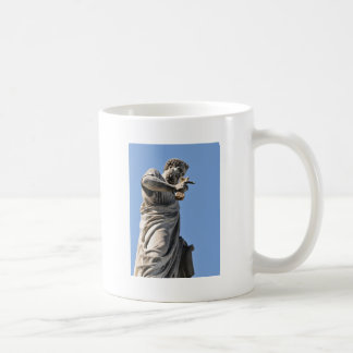 Saint Peter statue in Rome, Italy Coffee Mug