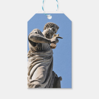 Saint Peter statue in Rome, Italy Gift Tags