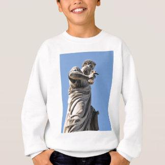 Saint Peter statue in Rome, Italy Sweatshirt