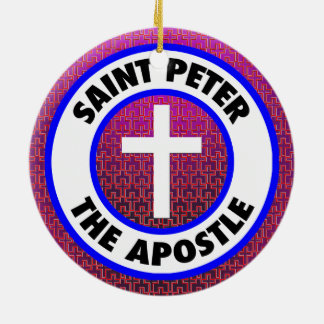 Saint Peter the Apostle Ceramic Ornament