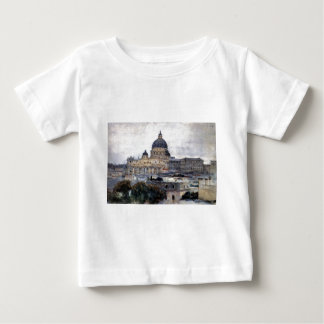 Saint Peter's Cathedral in Rome by Vasily Surikov Baby T-Shirt