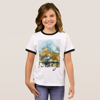 Saint Peters Cathedral in Vatican City Ringer T-Shirt
