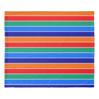 saint petersburg flag stripes lines pattern usa ci duvet cover