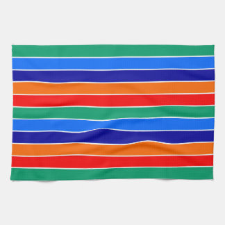 saint petersburg flag stripes lines pattern usa ci kitchen towel
