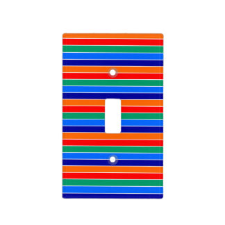 saint petersburg flag stripes lines pattern usa ci light switch cover