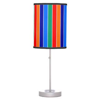 saint petersburg flag stripes lines pattern usa ci table lamp