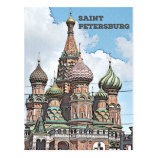 Saint Petersburg, Russia Postcard