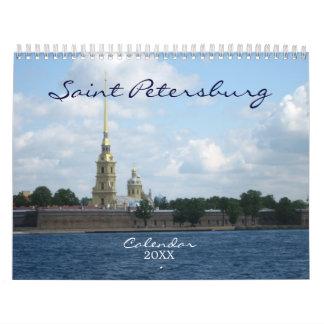 Saint Petersburg Wall Calendar