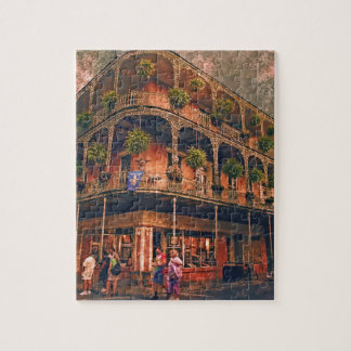 Saint Philip and Royal streets in French Quarter N Puzzle