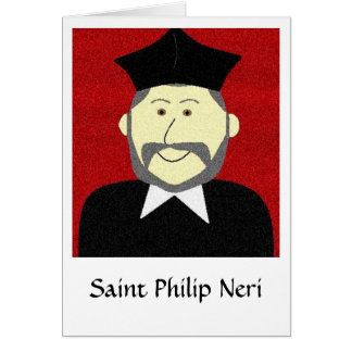 Saint Philip Neri Card
